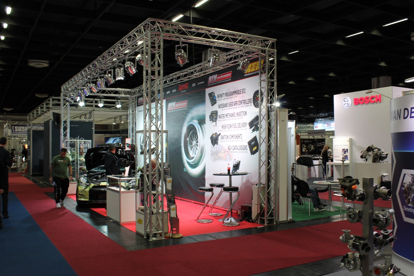 Display Stand Hire Uk : Exhibition stand display hire equipment birmingham nec