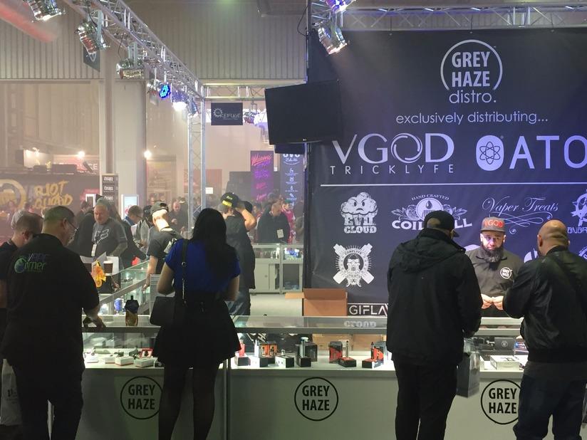 Grey Haze exhibition show NEC Birmingham